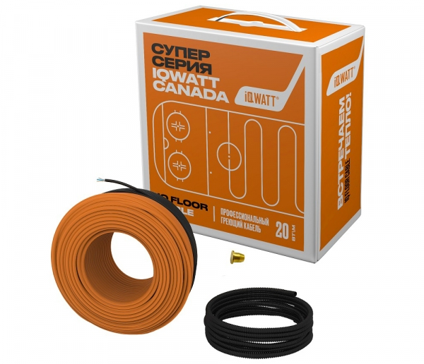 Фото Кабель IQ FLOOR CABLE - 90 метров (12,0 кв. м)